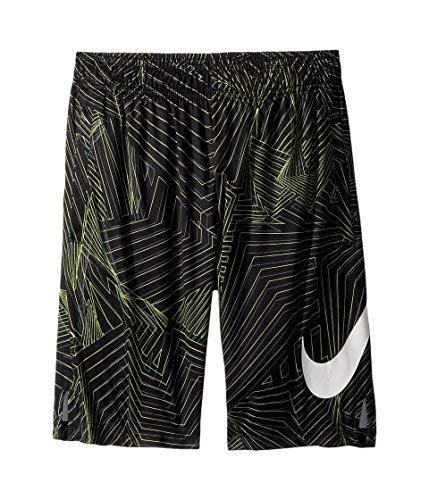 NIKE Big Kids' (Boys') Dri-FIT Training Shorts (Black(892490-010)/Cool Grey, Large)