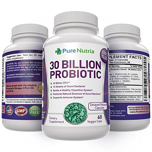 Probiotic 30 Billion Cfu 15 Strains Of The Best 100