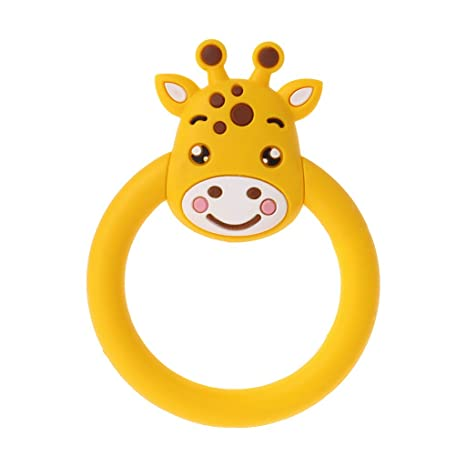 Amazon.com: Hacloser Baby Teether Pacifier Cartoon Animal ...