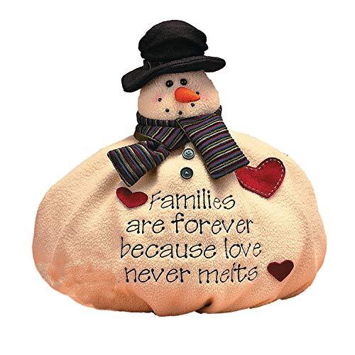 ristmas Snow Winter Family Decor ()