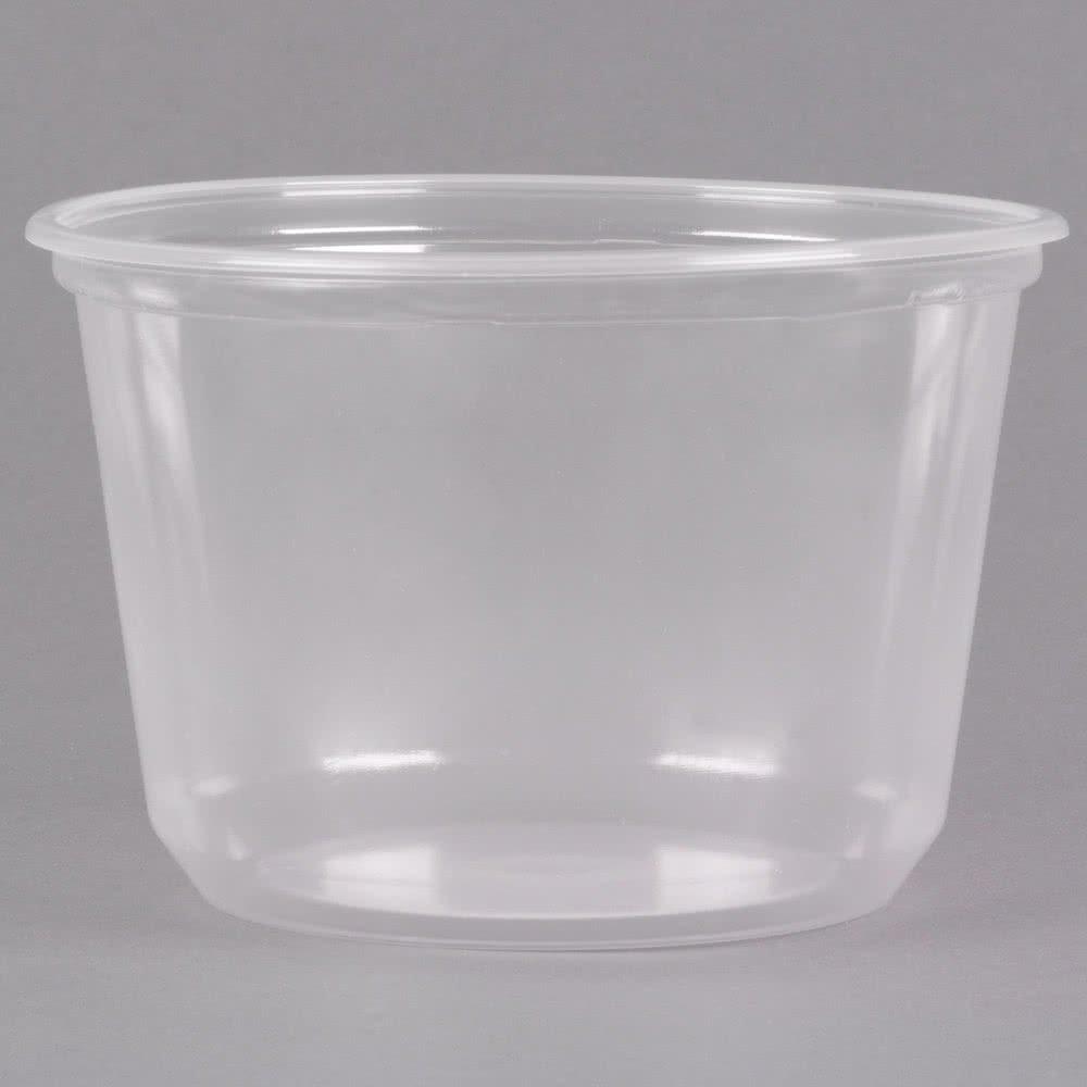 1a1e1656d52e Amazon.com: BWS 16 oz Microwavable Translucent Round Craft Food Meal ...