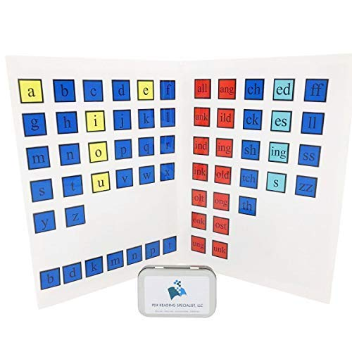 PDX Reading Specialist, LLC Magnetic Letter Tiles & Whiteboard Set