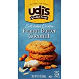 Udi's Gluten Free Soft Baked Peanut Butter Coconut Cookies, 9.1 Ounce