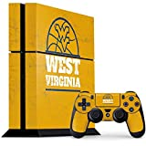 West Virginia University PS4 Console and Controller Bundle Skin - West Virginia University Yellow | Schools & Skinit Skin
