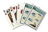 San Juan Islands, Washington - Nautical Chart (Playing Card Deck - 52 Card Poker Size with Jokers)