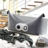 YXCSELL Soft Upholstered Headboard Stuffed Pillow Cushion For Bed Sofa Backrest Positioning Support Reading Head Pillows and Removable Cover Beautiful in Kids bedroom