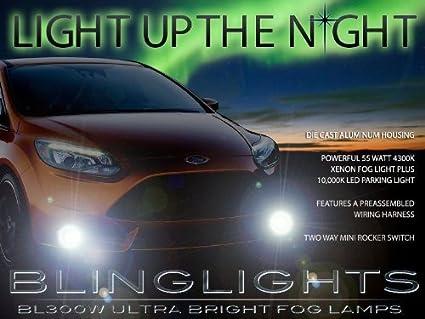 Blinglights Blw   Ford Focus Xenon Halogen Fog Lamps Driving Light Lights