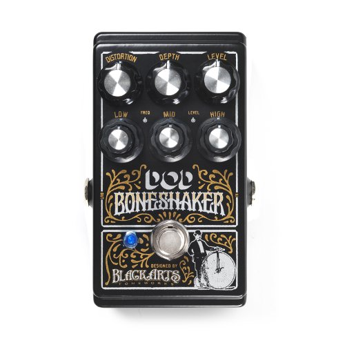 Digitech DOD-BONESHAKER Signature Designer Distortion Pedal with 3-Band Parametric EQ by DigiTech
