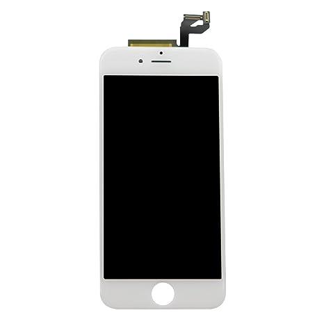 Smartex Pantalla Blanco Compatible con iPhone 6S / Pantalla LCD con Retina táctil + Kit de