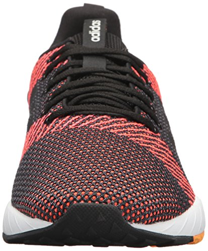 adidas Men's Questar BYD Running Shoe, Black/White/Solar red, 7 M US by adidas (Image #4)