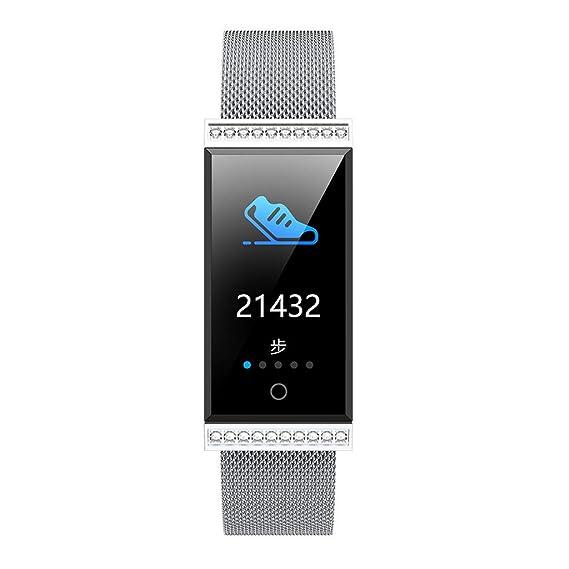 Baiomawzh Smartwatch Impermeable IP68, Pulsera Actividad Inteligente con Pulsómetro, Monitor de sueño, Reloj Deportivo Fitness Tracker para Andriod y ...