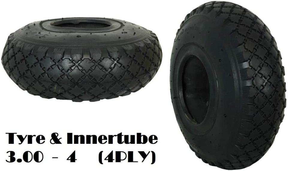 CHOOSE YOUR SIZE AND VALVE!! // GARDEN Durable tool WHEEL BARROW TYRE AND INNER TUBE