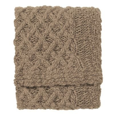 Company C Elsa Throw Blanket, 0, Driftwood