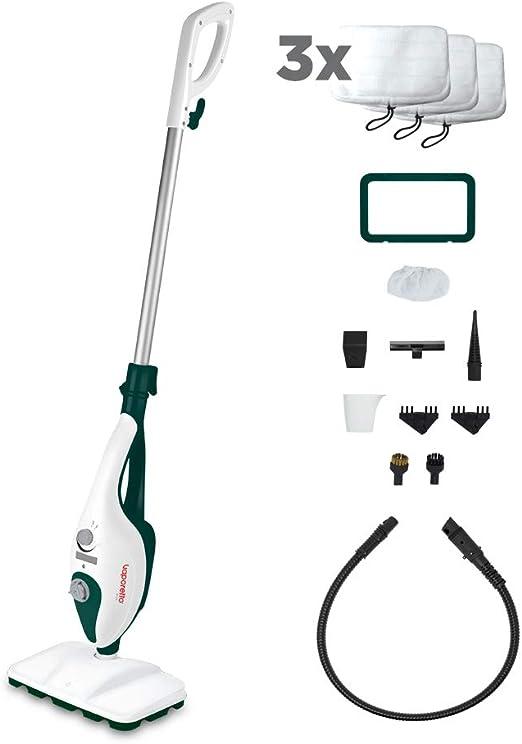 Polti Vaporetto SV240 - Escoba a vapor 2 en 1 con limpiador ...