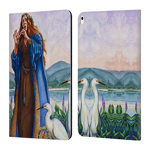 Official Jane Starr Weils Calling The Mist Goddess 2 Leather Book Wallet Case Cover Compatible for iPad Air (2019)
