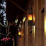 YINUO LIGHT LED Vintage Lantern, Realistic Dancing