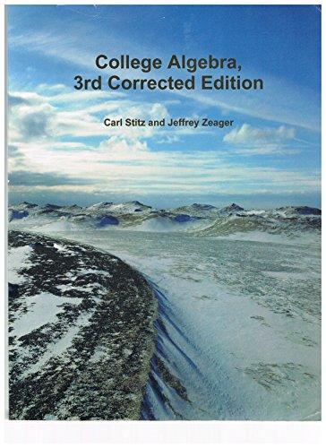 Top 10 best college algebra textbook 3rd edition