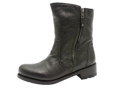 a3601e0f80c7b Blackstone LAMMFELL Größe 42 Schwarz (BLACK): Amazon.de: Schuhe ...