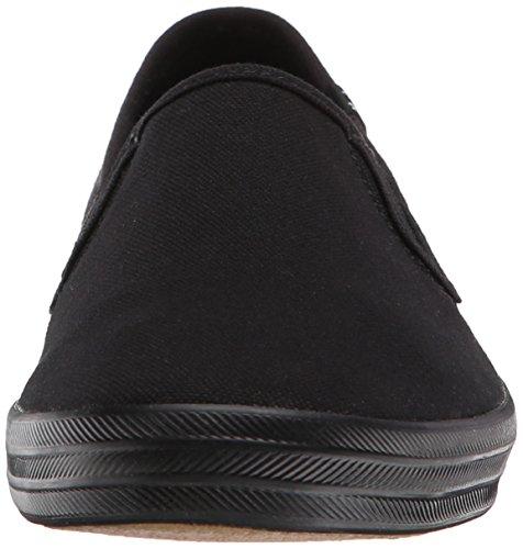Keds Donne, Campione Originale Sneaker Slip-on Canvas Nero / Nero