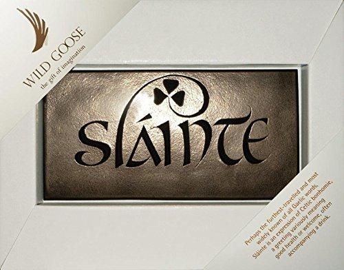 (Wild Goose Irish Slainte Bronze Plaque)