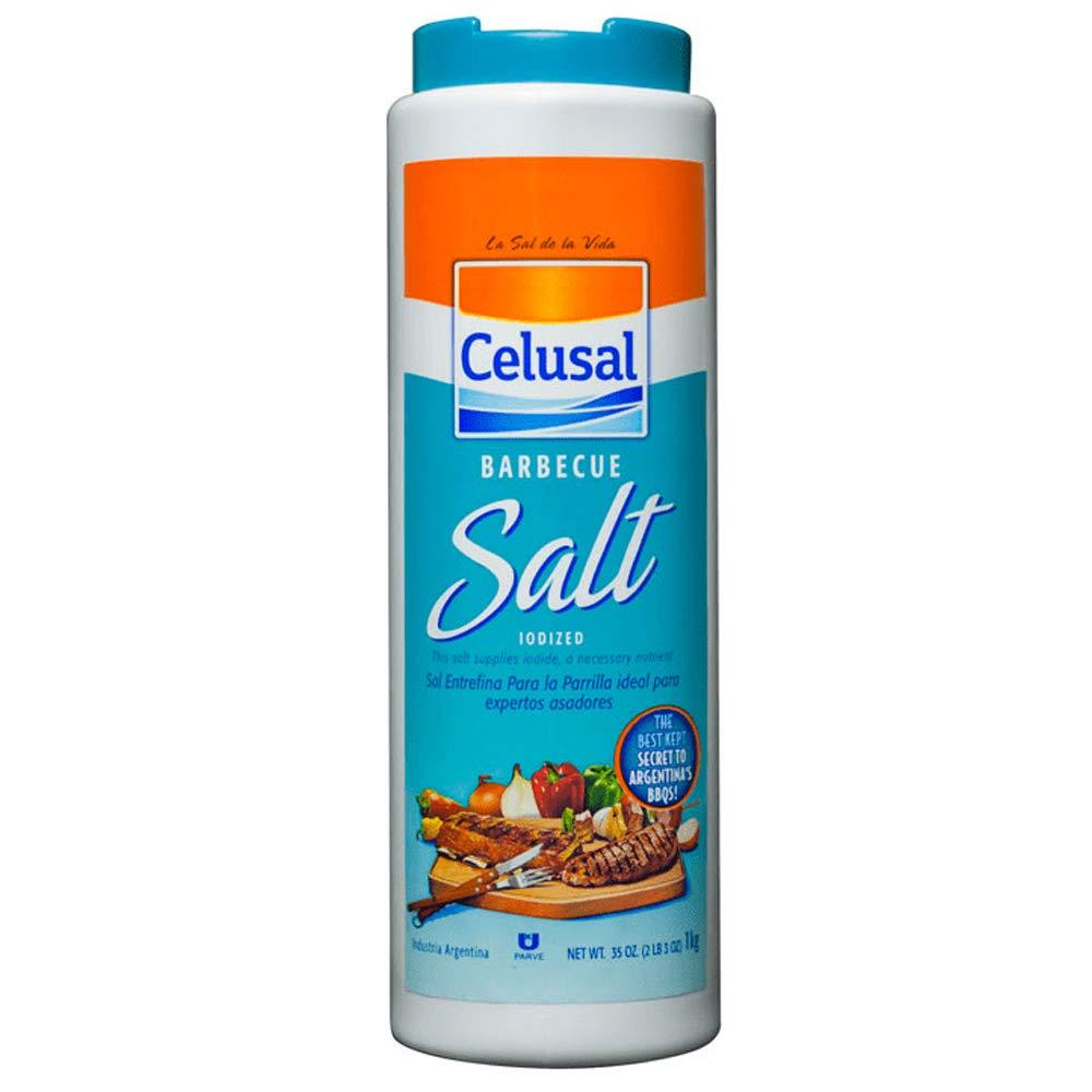 Amazon.com : 1 Celusal Barbecue Grill Salt Sal Parrillera ...