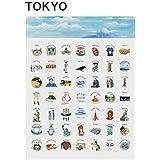 おさんぽBINGO 東京 TOKYO(お散歩ビンゴ・おさんぽビンゴ・フィールドビンゴ)【ブンケン】 東京