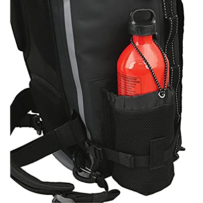 Nelson-Rigg SE-3040 40 Liter Gear Hurricane 40L Waterproof Backpack/Tail Pack, Black: Automotive