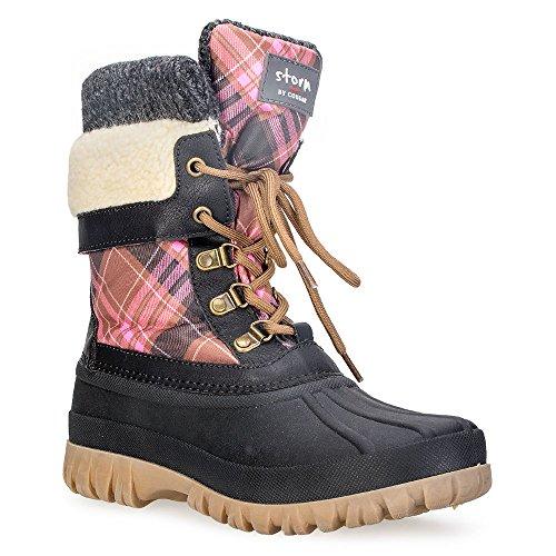 Boot Women's plaid Creek Pink Cougar qnFz7vxgE