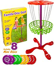 K-Roo Sports SOUT-301 Little Flyers Family Disc Golf with 8 Mini Discs