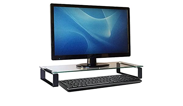Carrara - Soporte para monitor de ordenador, estante de escritorio ...