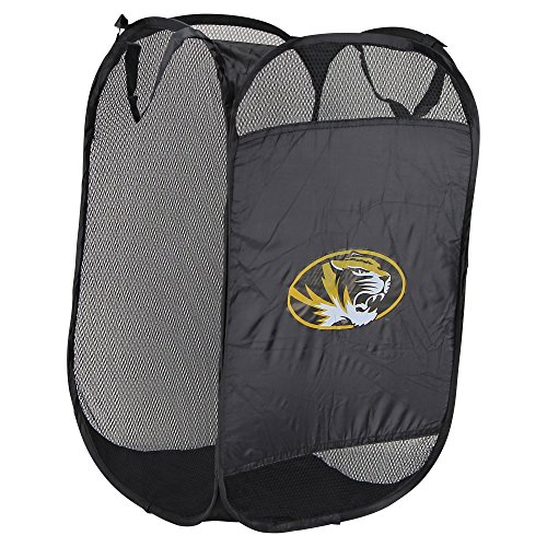 NCAA Hamper Team Logo Pop-Up Laundry Basket (Missouri Tigers)