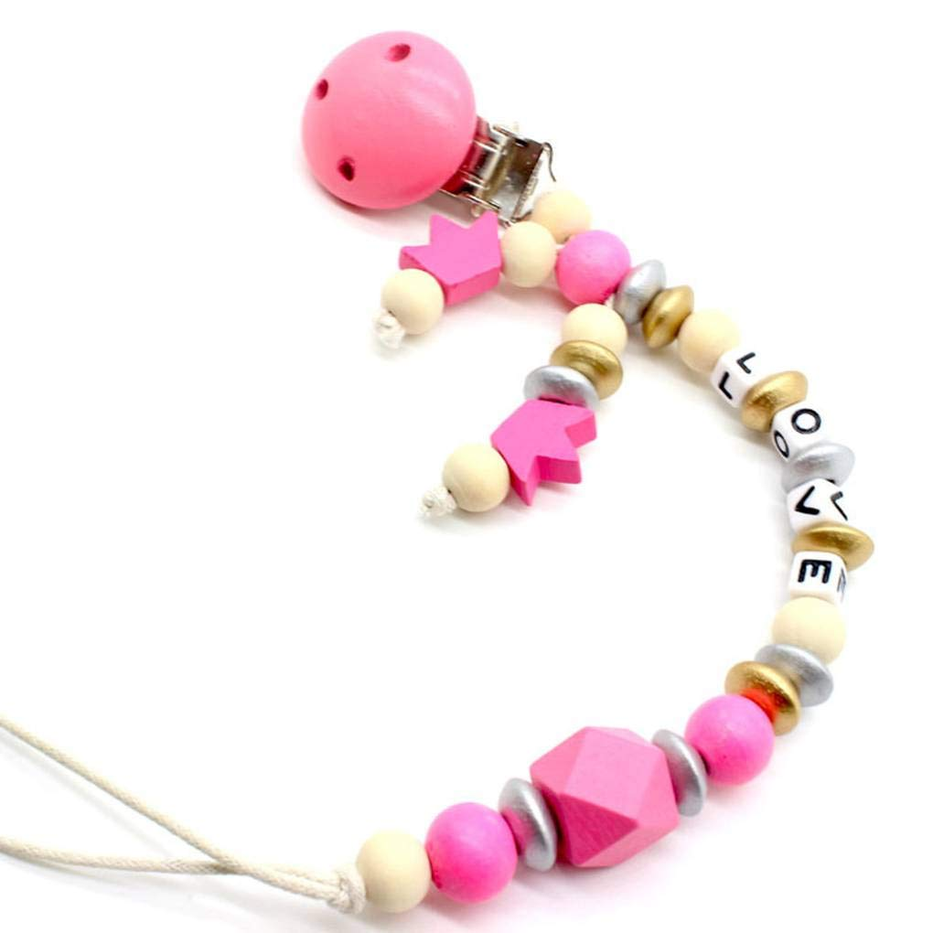 Qualité haut de gamme pour bébés Sucettes clip Mignons Designs Support universel Teething bâton Jouet Soothie Mengonee