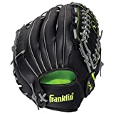 Franklin Sports Field Master Series Baseball Glove — Adjustable Synthetic Leather Baseball Gloves — Baseball Mitt — Multiple...