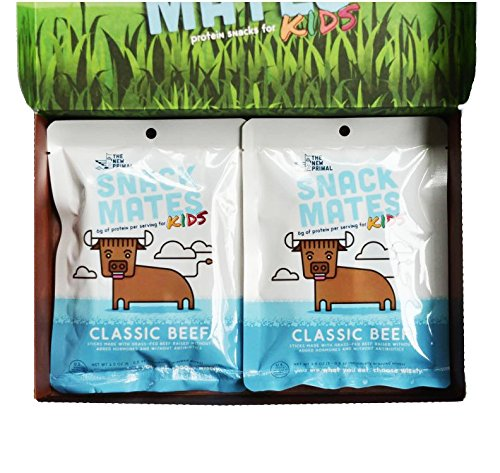 The New Primal Snack Mates Sampler - 4 Pack