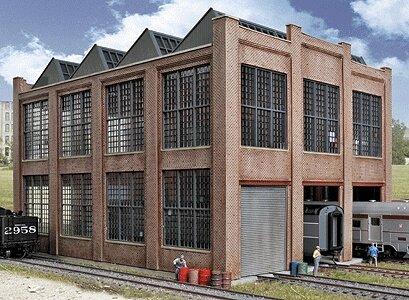 Walthers HO Scale Rail Shops Cornerstone Series174 Car Shop