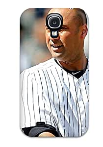 Awesome Derek Jeter Baseball Flip Case With Fashion Design For Galaxy S4