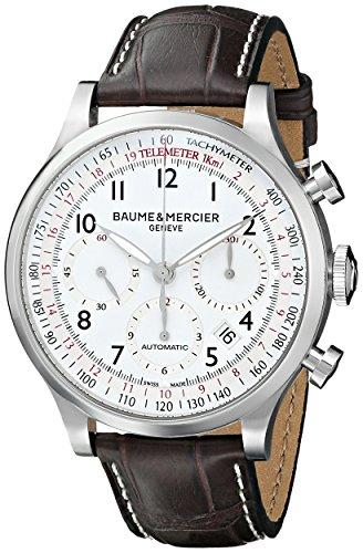 baume-mercier-mens-bmmoa10041-capeland-analog-display-mechanical-hand-wind-brown-watch