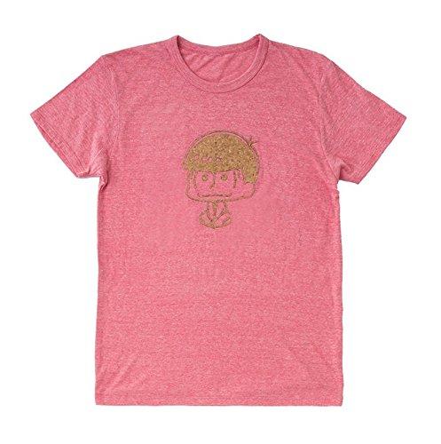 おそ松さん コルクプリントTシャツ おそ松 赤 L