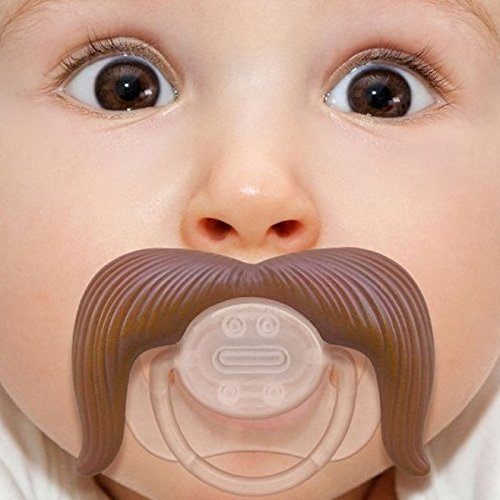 Kasstino Baby Funny Dummy Prank Pacifier Novelty Toy Teeth Children Child Soother Nipple (Cowboy)