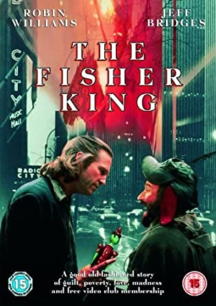 The Fisher King Dvd Amazoncouk Robin Williams Jeff Bridges