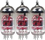 JJ 12AX7 / ECC83 Preamp Vacuum Tubes (Three Pack)