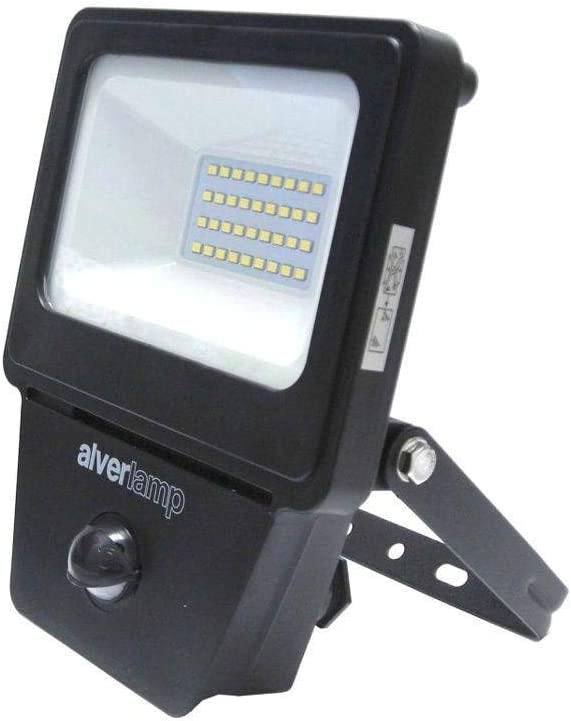 Alverlamp LPRO20SEN - Proyector led sensor 20w 4000k: Amazon.es ...