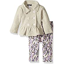 Baby Girls' 2 Piece French Terry Set