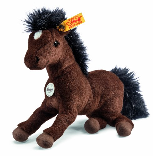 Steiff Little Friend Hanoverian Hanno Plush, Brown