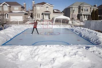 High Quality Arctic Backyard Ice Rink Kit   25u0027 X ...