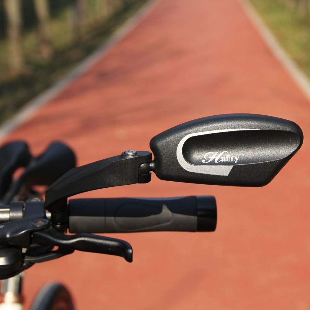 Cegduyi Hey Caterpillar Bicycle Cycling Rearview Handlebar Mirror Stainless Steel Lens Handlebar Bike Mirror Bicycle Mirror Safe Rearview Mirror