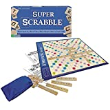 super scrabble game - Super Scrabble - The Super-Sized Version of the Greatest Word Game of All Time - 2 to 4 Players - Ages 8 and Up
