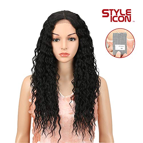 "Style Icon 25"" Lace Front Wigs Long Curly"