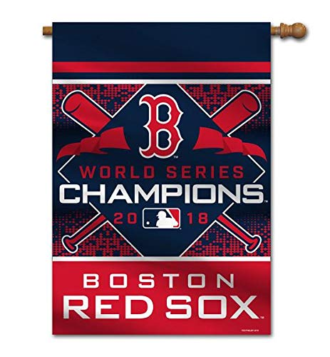 Fremont Series - Fremont Die Boston Red Sox 2018 World Series Champions 2-Sided House Flag