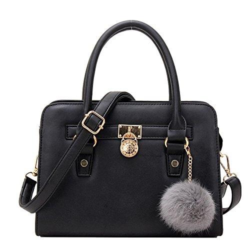 vinicio-womens-fashionable-lovely-pure-soft-scrubs-shell-handbag-shoulder-bagblack